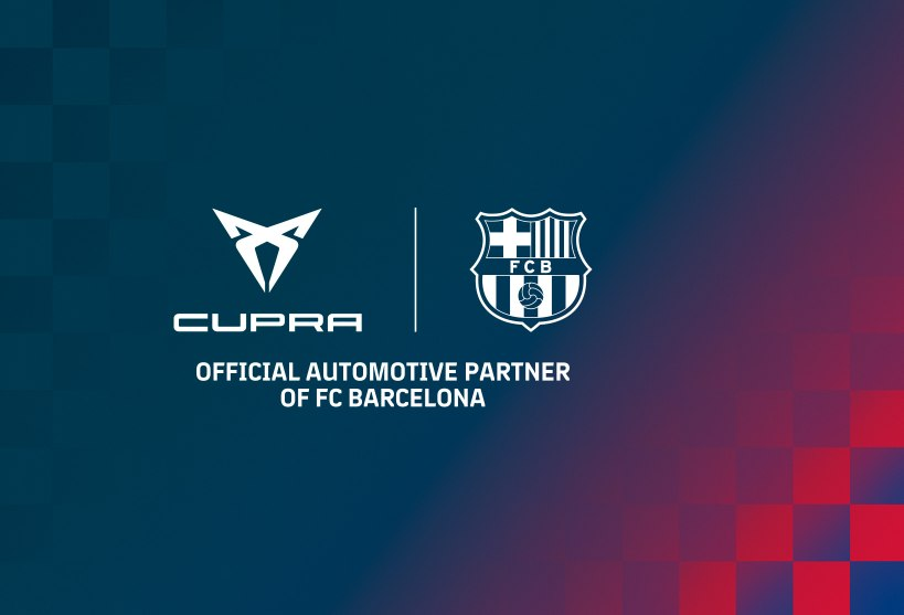 CUPRA partners up with FC Barcelona for the next five seasons